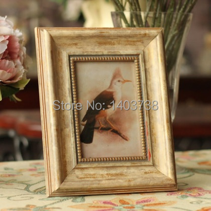 American country style 6 inch solid wooden antique picture for American frame coupon