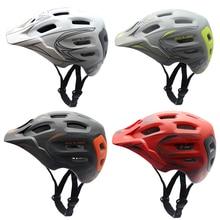 MTB Bike Bicycle Helmet Ultralight 19 Vents Cycling Helmet PC+EPS Road Mountain MTB Bike Helmet With Visor Size 56-59cm/59-62cm