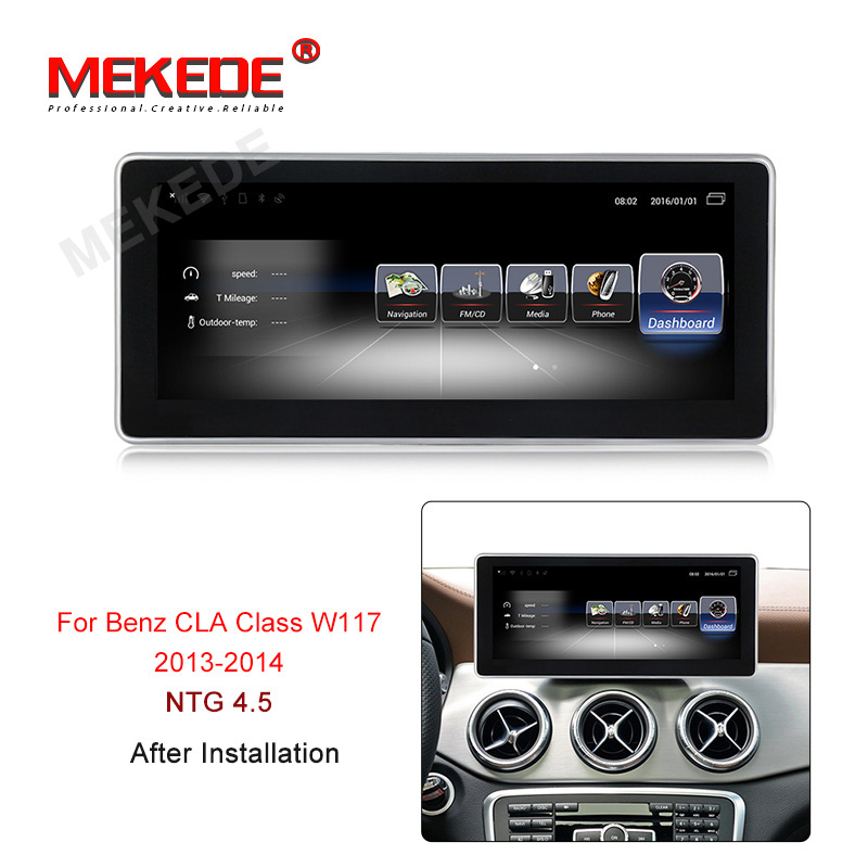 Fit for Mercedes Benz CLA Class W117 2013 2014 2015 2016 2017 2018 Car GPS Navigation radio player with 4G LTE 3GB RAM 32GB ROM
