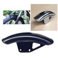 Motorcycle Front Fender Mudguard Mug Guard Cover 34cm Fit For Suzuki GN125 GN250 Metal About 34cm