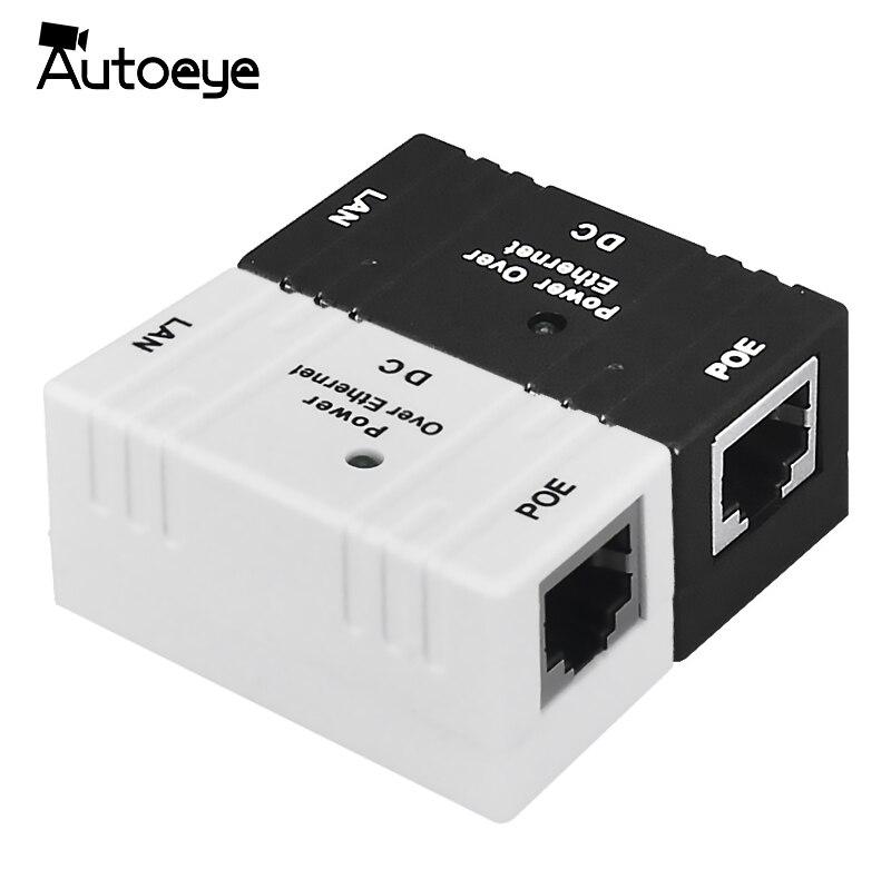 Autoeye 10M/100Mbp Passive POE Power Over Ethernet RJ-45 Injector Splitter Wall Mount Adapter For CCTV <font><b>IP</b></font> Camera <font><b>IP</b></font> <font><b>Phone</b></font>
