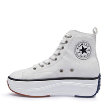 Canvas Shoes Women Fashion Trainers Women High Top Sneaker L