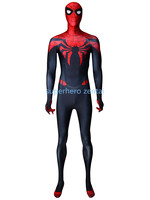 Black Red Spiderman Costume Spandex Fullbody Spidermen Zentai Suit The Most Popular Halloween Cosplay Catsuit Adult