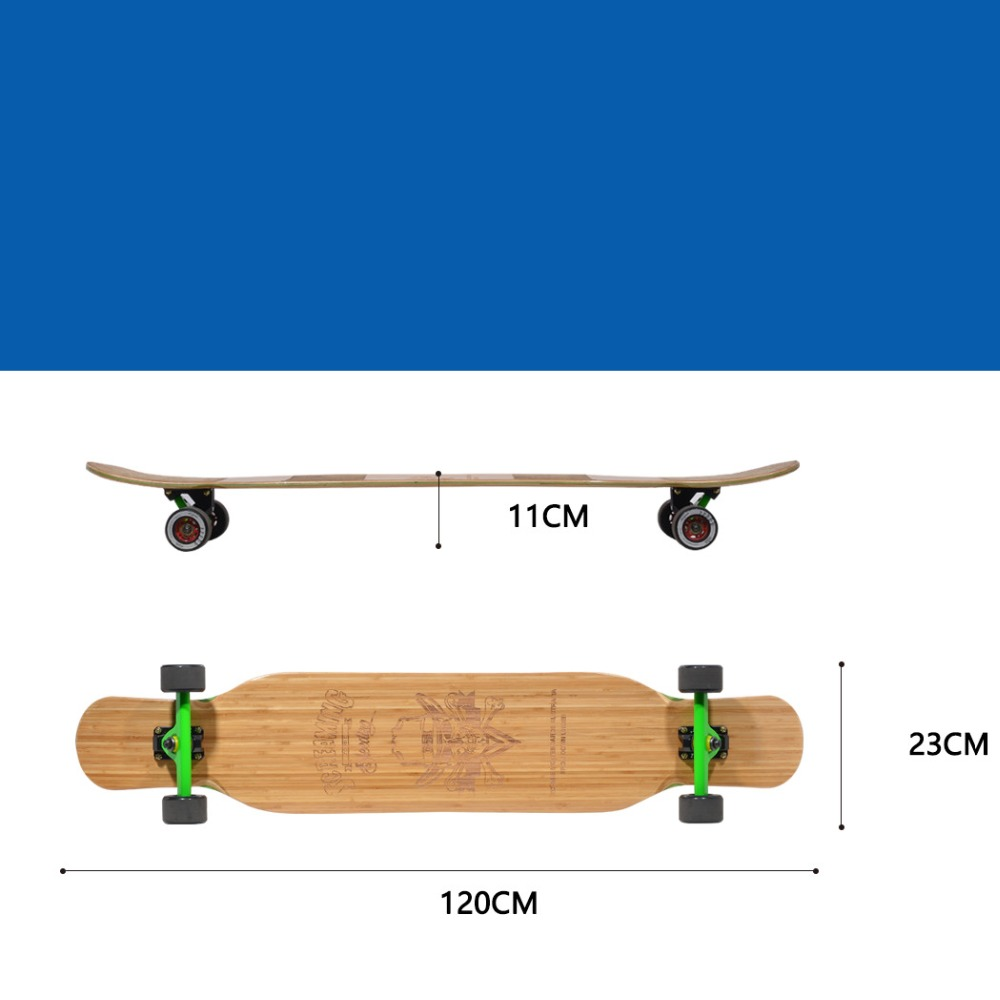 Image 4 - Mackar tide brand design professional long board dance board skateboard protection Cover for  road board electric skateboard-in Skate Board from Sports & Entertainment