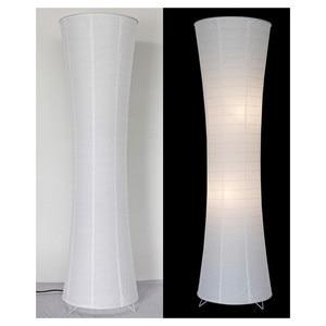 Image 5 - Фумат Современные Напольные лампы для спальни бумажная лампа для пола Lamparas de pie гостиная настольная лампа LED торшер Лофт