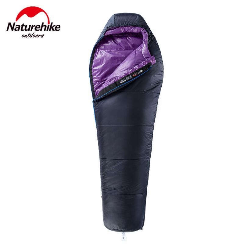 Naturehike Ultra-Léger Adulte Randonnée Voyage sac de couchage Portable camping En Plein Air coton tourisme sacs de couchage Camping équipement