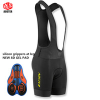 AOSTER Black CYCLING BIB SHORTS PRO TEAM Race Lightweight Cycling Bottom Ropa Ciclismo Italy Grippers At