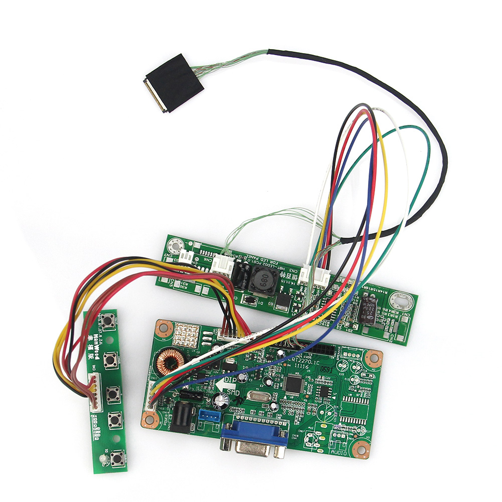 LCD Control Driver Board M.RT2270 LCD/LED (VGA) For N154C6-L02 LP154WP 1440x900 LVDS Monitor Reuse Laptop