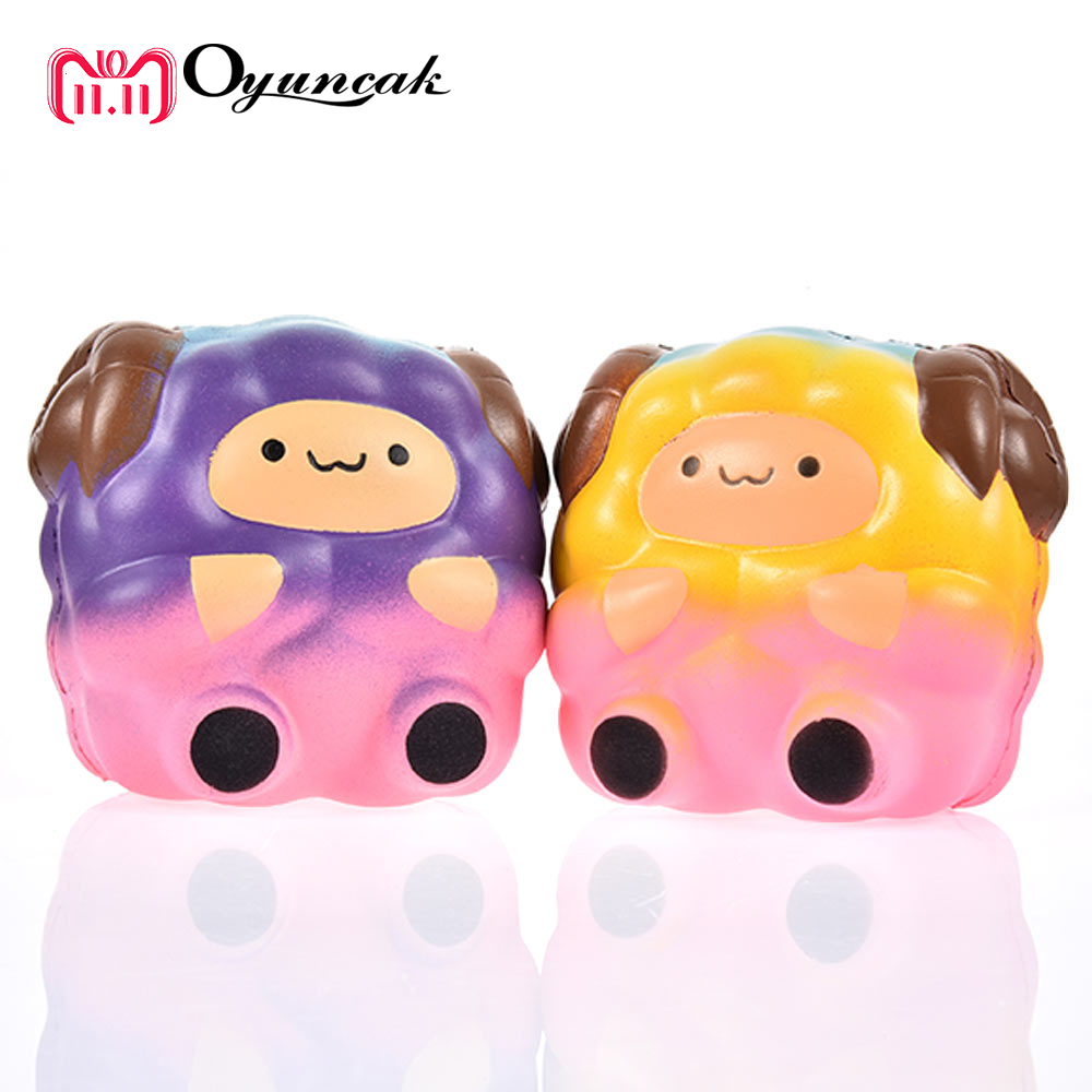 Oyuncak Squishy Slow Rising Sheep Antistress Squishe Novelty Gag Toys jumbo Fun Stress Relief Toy Entertainment Practical Jokes fulljion squishy alpaca slow rising antistress squishe toys jumbo fun gadget squisy stress relief toy girls gags practical jokes