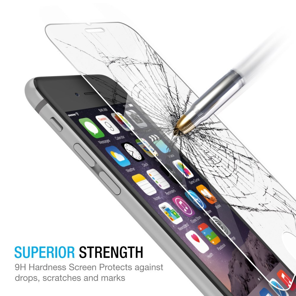Screen-Protector iPhone 4 Films Tempered-Glass Premium Ultra-Thin 8-Plus for 5/5s/6/..