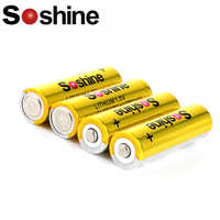 Soshine AA 1.5V 3000mAh FR 6 Mignon LITHIUM Batteries with Super Continuous Discharge for Camera / Flashlight / Headlamp / Toys