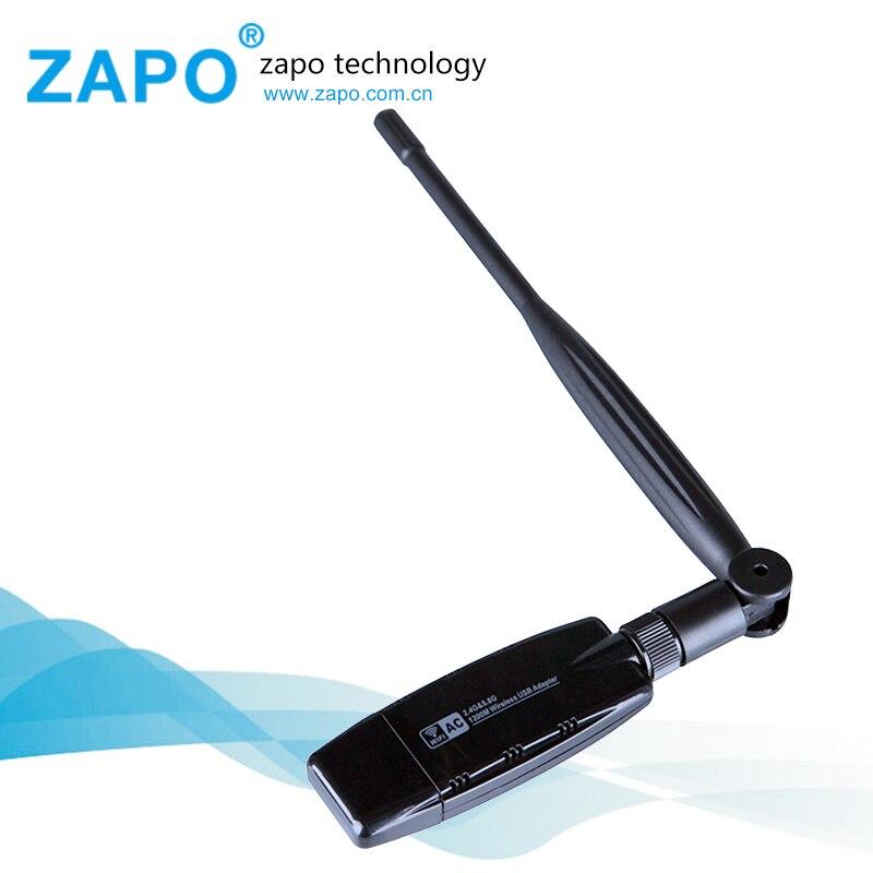 ZAPO 1200M wireless network card 802 11 AC N wifi adapter usb 3 0 wi fi