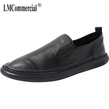 High Quality Genuine Leather Casual Shoes mens  men casual natural leather loafers luxury shoes designer cowhide