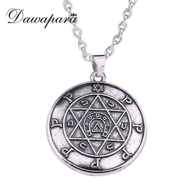 Dawapara Jewish Magen Star of David Necklace Men/Women Bat Mitzvah Gift Israel Judaica Hebrew Jewelry Hanukkah Pendant necklace