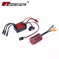 GTSKYTENRC 2435 4500KV/4800KV Brushless Motor w/ 25A Brushless ESC for 1:16 1:18 RC Buggy Drift Racing Car