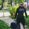 Новый 2016 мышцы братья блейзер фитнес одежды модного бренда майки мужчины пальто высокого качества