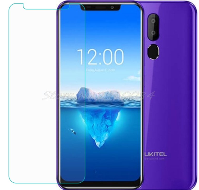 2PCS Smartphone 9H Tempered Glass  For Oukitel C12 Pro C12PRO  Protective Film Screen Protector Cover Phone