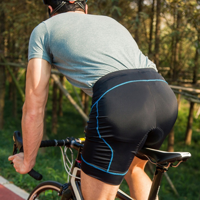 Mens Breathable Comfort Quick Cycling Shorts 3D Cycling Silicone Shorts Wicking Mountain Compression Tights Shorts