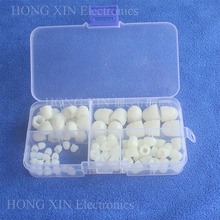 90Pcs M3/M4/M5/M6/M8 White Decorative Plastic Acorn Nuts Assortment kit set Fastener Hardware PCB Decorate Cap Hex Cover Nuts 20pcs din1587 m3 m4 m5 m6 brass cap hex nuts decorative dome head cover semicircle acorn nut