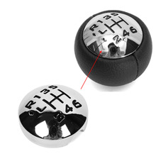 6 Speed Car Gear Shift Knob Cover Cap for PEUGEOT 307 308 3008 407 5008 807 for Citroen C3 (A51) C4 C4 Picasso