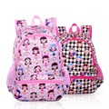 2016 New Cute Cartoon Smiling Face Children Backpack In Primary School Backpacks School Bags For Girls Kids Mochila Infantil Zip