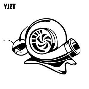 best car stickers turbo snail brands 1983 Chevy C10 Twin Turbo yjzt c10 00845 17 8 cm 13 cm boosted turbo snail funny vinyl decal personality