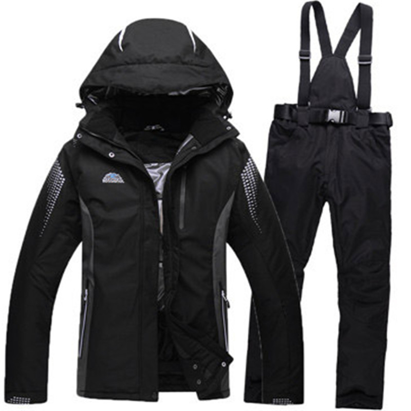 New Brand Ski Suit Men Woman Skiing Snowboard Jacket and Pant Clothing skiing Suit Set Outdoor Winter Coats HX16 варежки didriksons1913 biggles kids 500357 возраст 0 2 года цвет нежно сиреневый