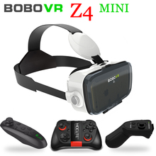 Xiaozhai Bobo VR Bobovr Z4 Mini 3D Google Card board Virtual Reality Goggles 3D Glasses Smartphone Helmet Headset Lens + GamePad