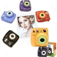 Fujifilm Instax Mini 8 Kumamon Instant Camera Set Kumamon Camera + Kumamon Film + Special Notebook + Key Ring + Strap + Sticker