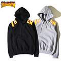 High Quality Thrasher Hoodie 100% Cotton Sportswear Suit For Men Girls Tracksuits Streetwear Brand Clothing Trasher Sweatshirt