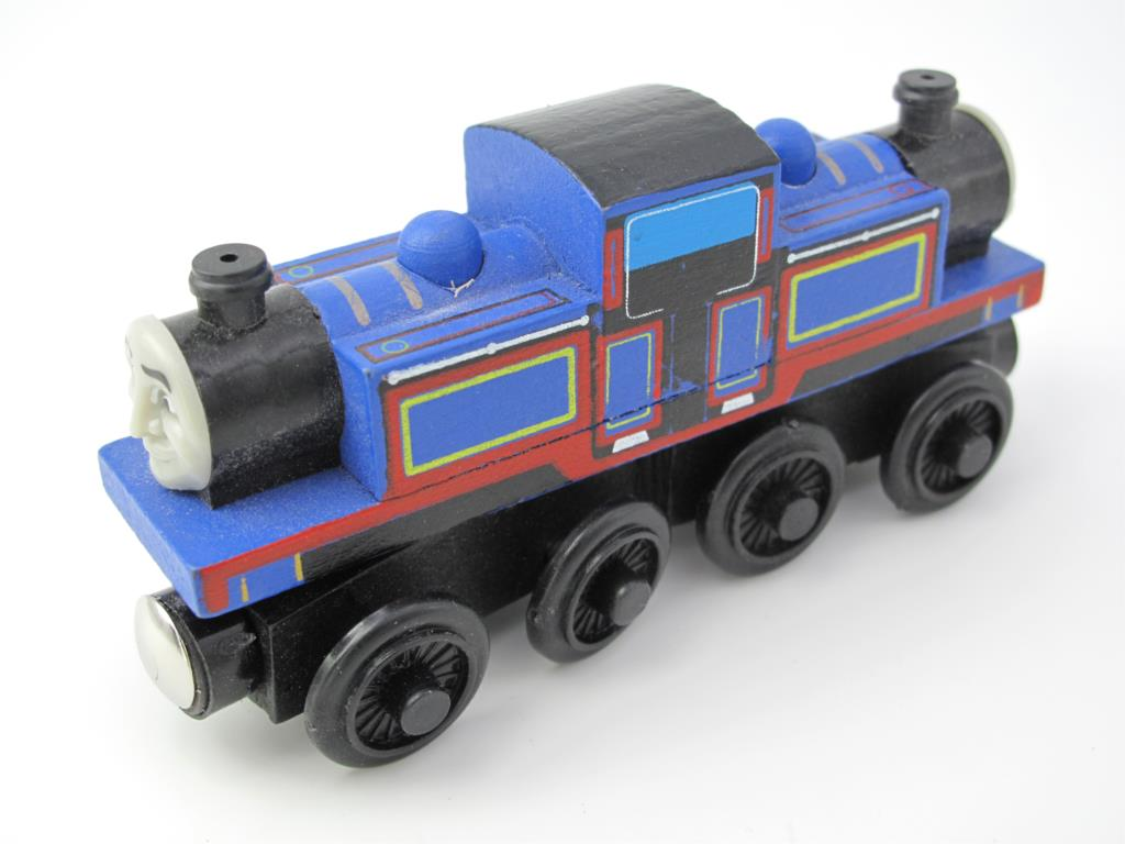 Wooden Thomas Train T090W MIGHTYMAC Thomas And Friends Trackmaster Magnetic Tomas Truck Locomotive Engine Railway Toys for Boys