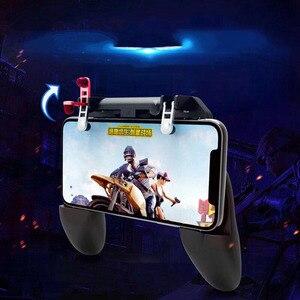 Image 5 - W10 Wireless Gamepad PUBG Joystick di Controllo Remoto per iOS Android Del Telefono Mobile Maniglia Controller Console di Gioco Accessori