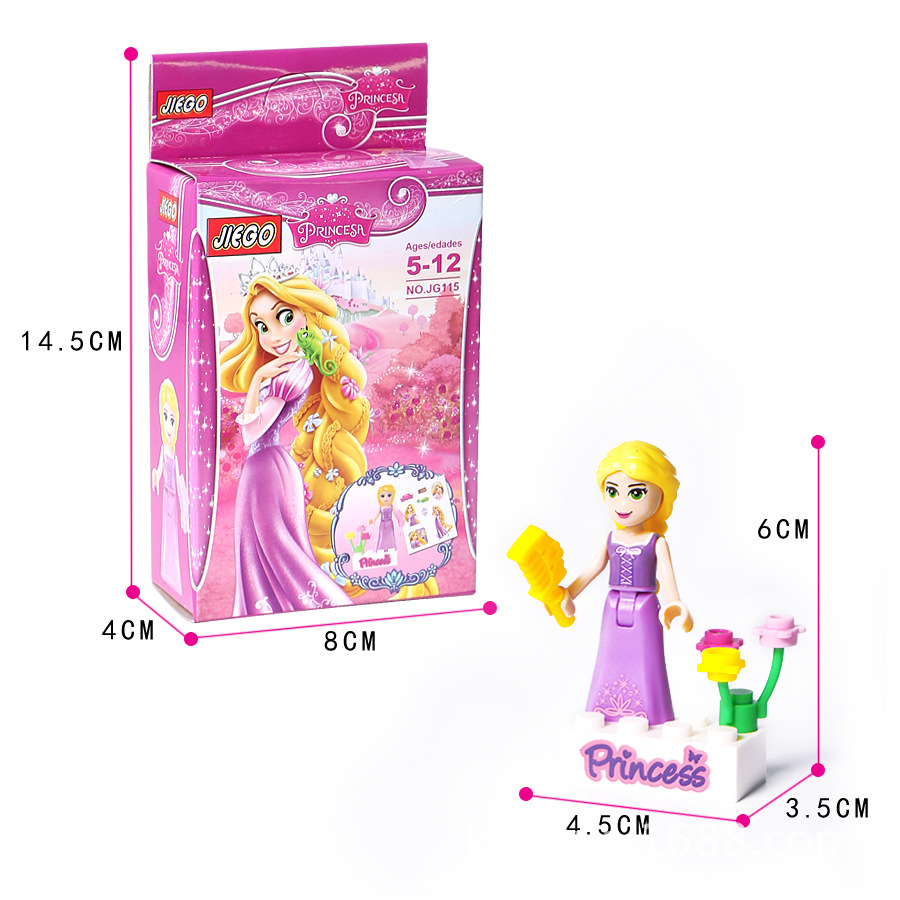 8Pcs-Fairy-Tale-Princess-Girl-Model-Building-Doll-Figures-Bricks-Blocks-Kid-Friends-Children-Toys-Compatible (4)