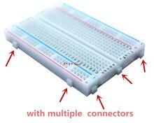 1 יחידות חדש 400 עניבה נקודות הלחמה PCB טיפוס מיני אוניברסלי מבחן Protoboard DIY לחם לוח עבור אוטובוס מבחן מעגל לוח