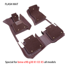 Special car floor mats for bmw g30 e46 e90 f10 f11 f25 f30 f45 x1 x3 x5 f15 e30 e34 e60 e65 e70 all models