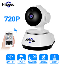 Hiseeu 720P IP Camera Wi-Fi Wireless Security HD Pan/Tilt Camera WiFi IP home Security Camera Baby Monitor Two-way Audio P2P