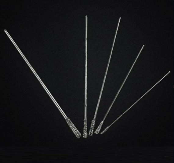 6 Pcs/lot 1.2-2.5mm Sand Super Hard Drilling Needle Bit DIY Tools Free Shipping Russia
