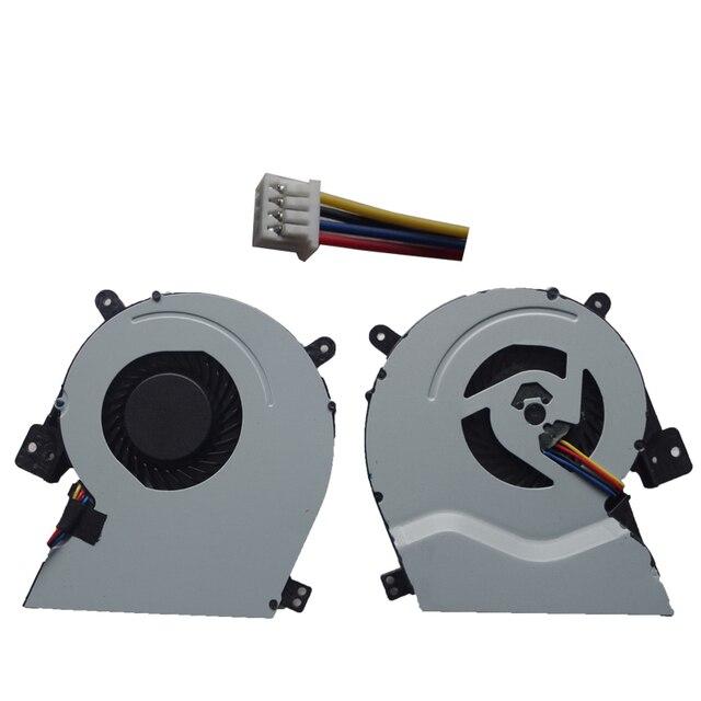 Nouveau ventilateur refroidisseur de processeur Pour ASUS X451 X451M X451C X451CA X551 x551m X511C X551C X551CA X551MA Pour DELTA KSB0705HB DD24 5V 0.40A