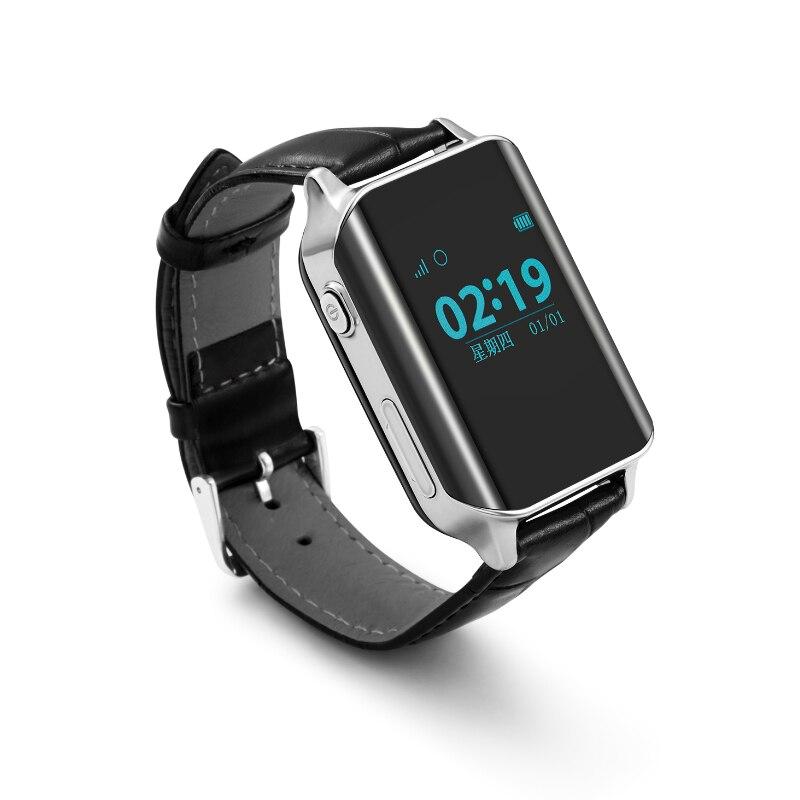 Business Men Wristwatch GPS Tracker Smart GPS Watch Locator For Elder locating Heart Rate Monitor SmartWatch Support SIM Card