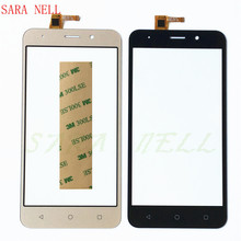 SARA NELL Mobile Phone Touchsceen Sensor For Vertex Impress luck Touch Screen Digitizer Panel Front Glass Replacement+Tape