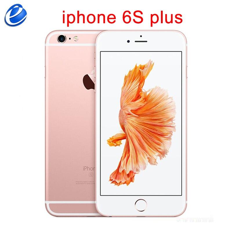 Оригинальный смартфон iPhone 6S Plus, 5,5-дюймовый экран, IOS, два ядра, 16/64/128 ГБ, 4G LTE, сканер отпечатков пальцев, хороший, как S8 plus