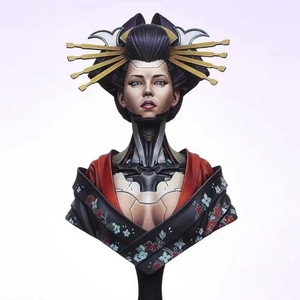 Image 1 - 1/12 грудь модельная фигурка из смолы комплект нераскрашенный/BUST371