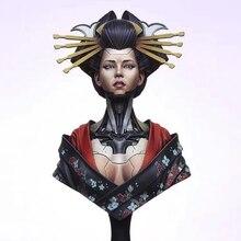 Kit de busto de modelo de figura de resina, sin montar, sin pintar, BUST371, 1/12