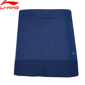 Li-Ning Women's Badminton Skirt Shorts Regular Fit Comfort AT DRY Breathable LiNing Sports Skirts ASKN018 WKQ066