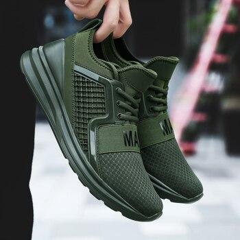 Мужская повседневная обувь, сезон лето-осень, большие размеры 46, 47, мужская  обувь, Tenis Masculino, zapatos hombre Sapatos, Уличная обувь, мужские ... c8ddf2602bf