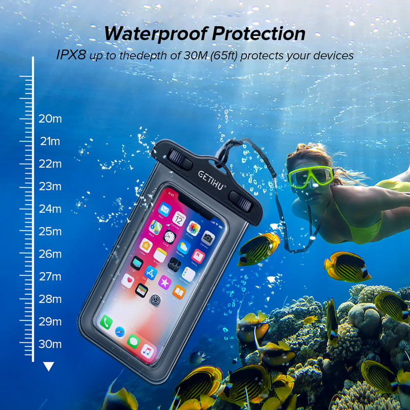 Universal Cover Waterproof Phone Case For iPhone  1