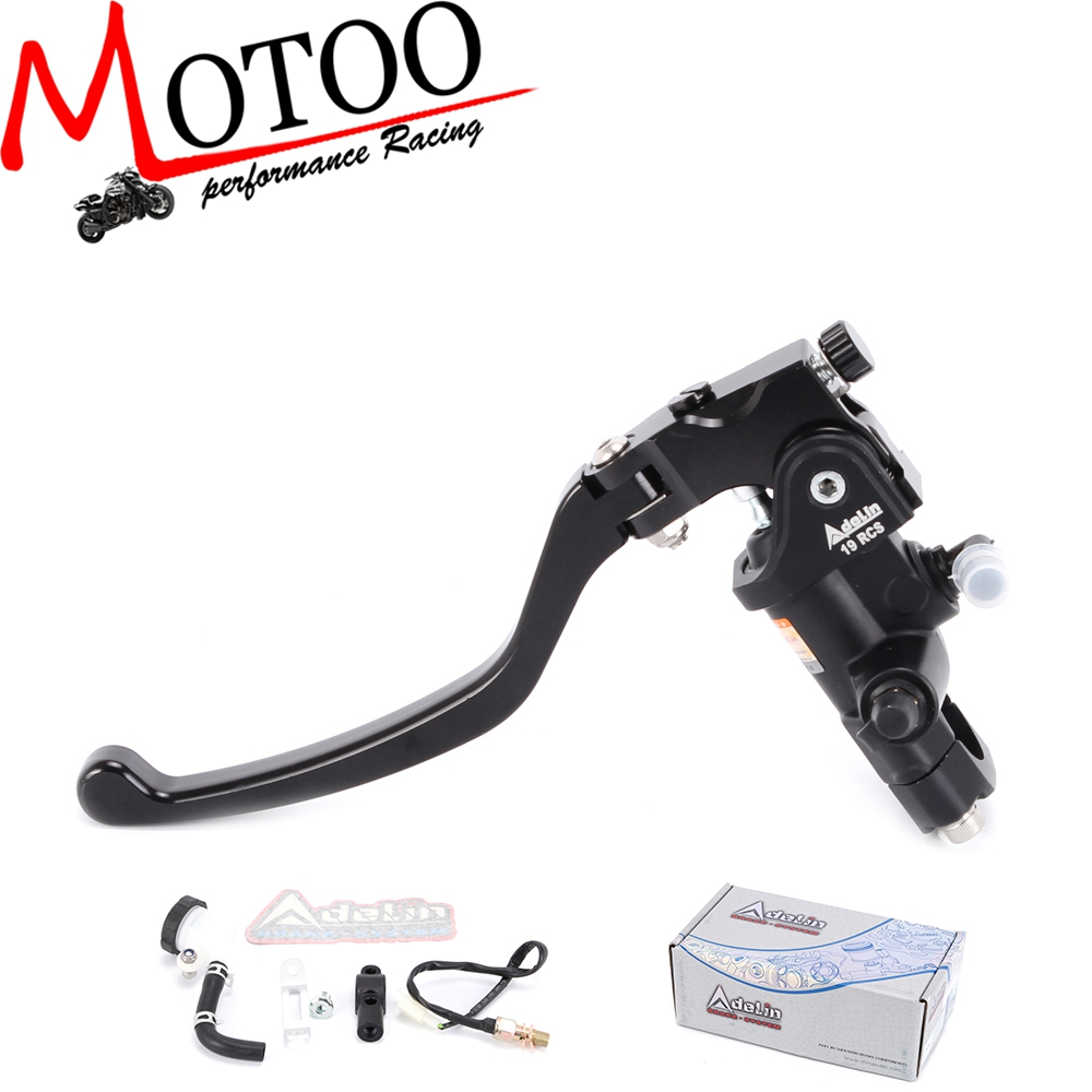 Motoo Universal Motorcycle 19RCS clutch Adelin Master Cylinder Hydraulic FOR 500cc 1500cc motorcycle