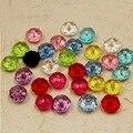 Atacado 100 pcs 8mm Rondelle Facetada esferas de Acrílico Redondo Spacer beads Para Mulheres Pulseira bangle fazer PS-BSD008