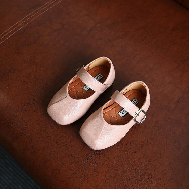 Boutique Girls Princess Shoes 2017 Spring Autumn Children Shoes Baby Kids Leather Shoes Sandals for Girls Baby Girl Dancing Shoe