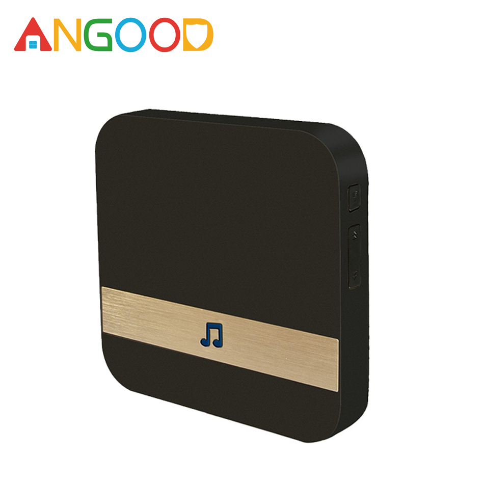 ANGOOD 433MHz Wireless Wifi Smart Video Doorbell Chime Music Receiver Home Security Indoor Intercom Door Bell Receiver 10-110dB(China)